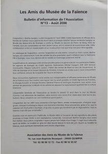Bulletin n°13