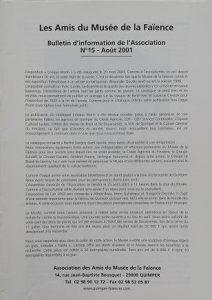 Bulletin n°15