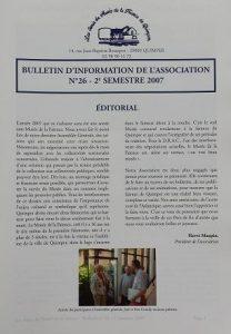 Bulletin n°26