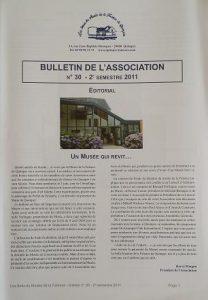 Bulletin n°30