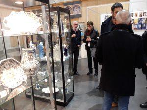 Inauguration de l'exposition le vendredi 10 novembre 2017.