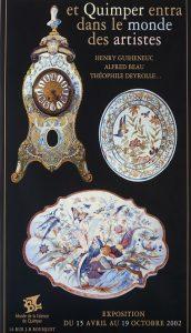 Et Quimper entra dans le monde des artistes - Henry Guiheneuc, Alfred Beau, Théophile Deyrolle...