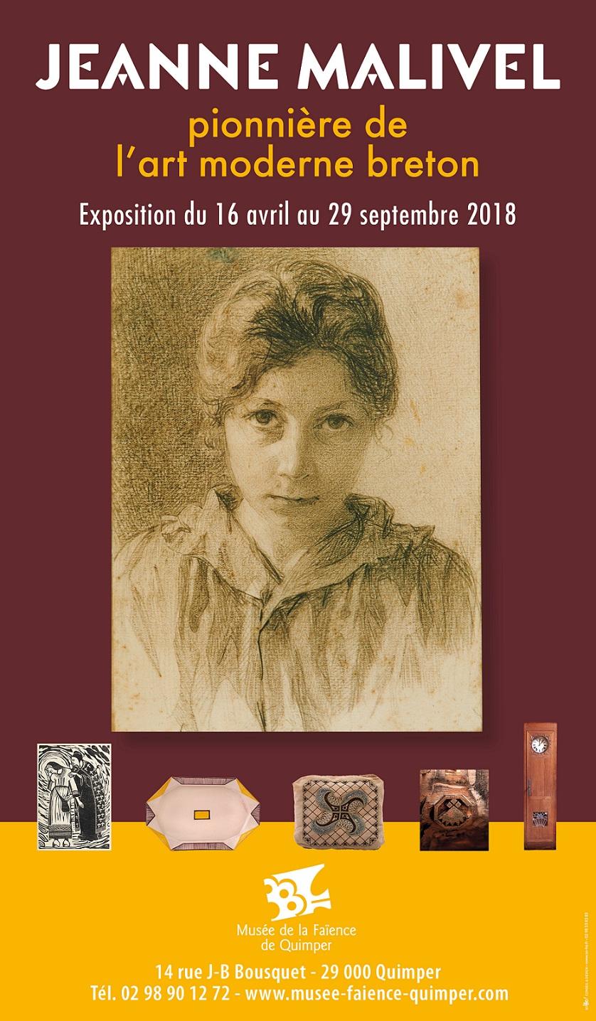 Jeanne Malivel pionnière de l'art moderne breton.