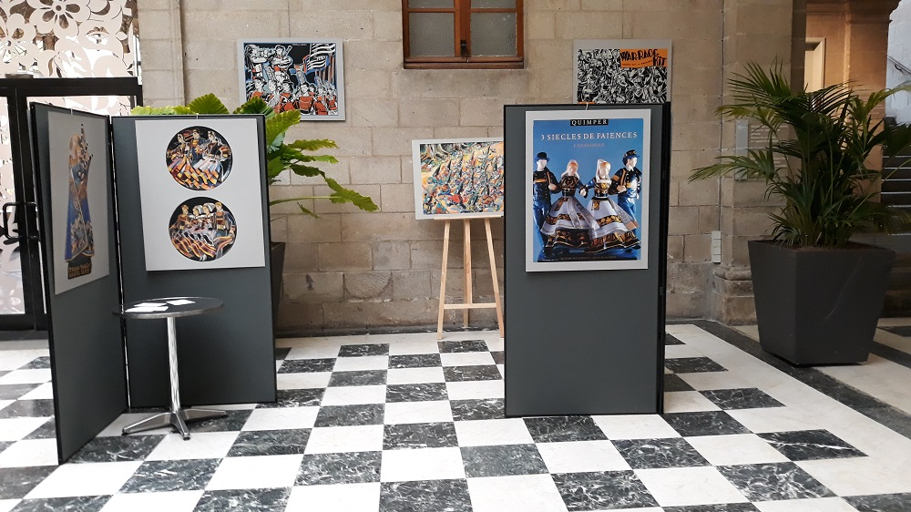 Micheau-Vernez festival de Cornouaille 2018.