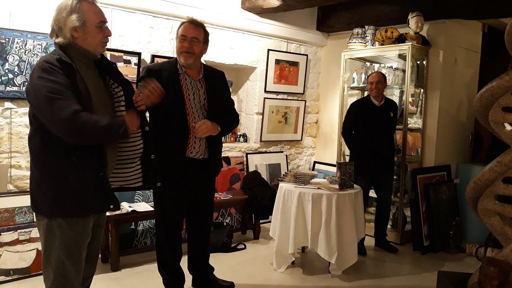 Armel Morgant, Yves Toulhoat et Florent Patron.