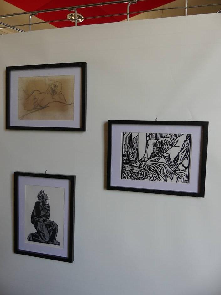 Gravures de Jeanne Malivel