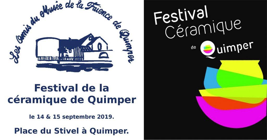 Festival de la céramique de Quimper 2019.