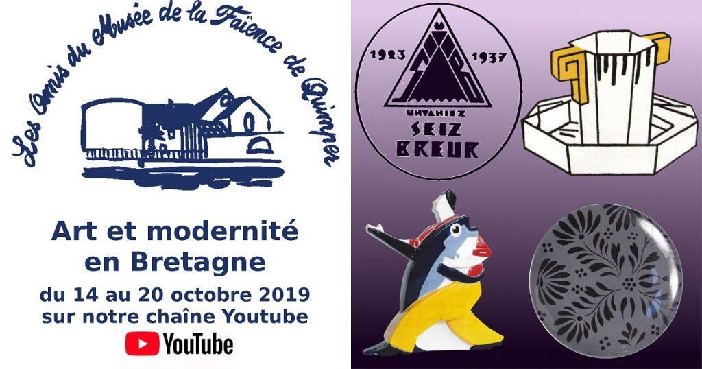 Art et modernité en Bretagne.