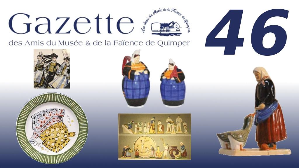 Visuel de promotion de la gazette n°46.