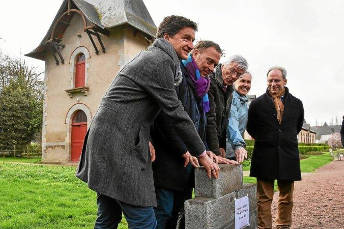 première pierre du musée Méheut