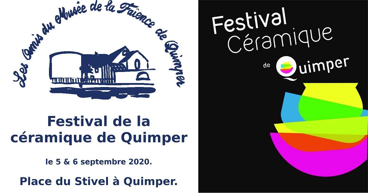 Festival de la céramique de Quimper 2020.