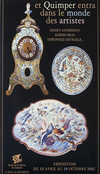 Et Quimper entra dans le monde des artistes – Henry Guiheneuc, Alfred Beau, Théophile Deyrolle …
