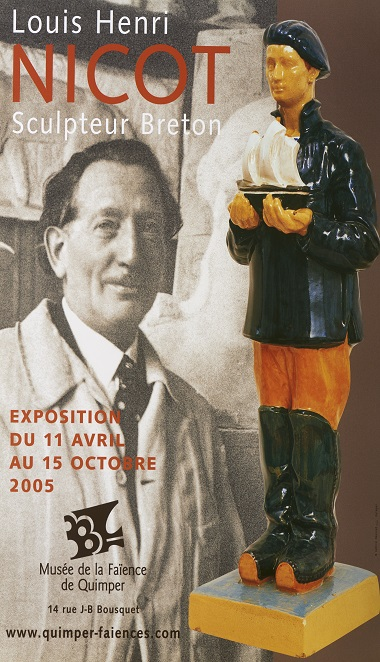 Louis Henri Nicot sculpteur Breton.