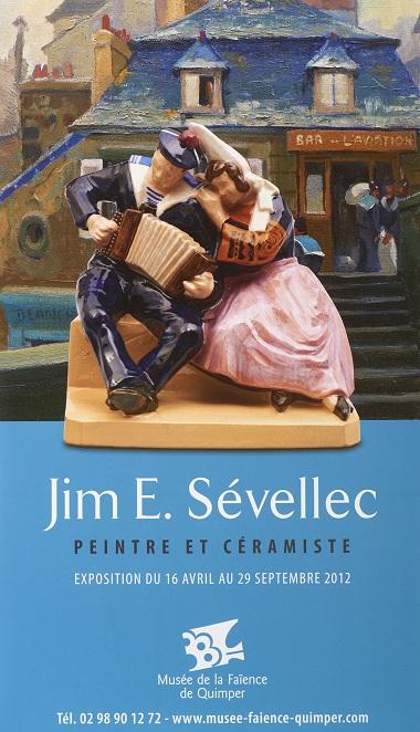 Jim E. Sévellec peintre et céramiste.