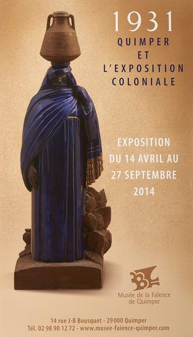 1931 Quimper et l'exposition coloniale.