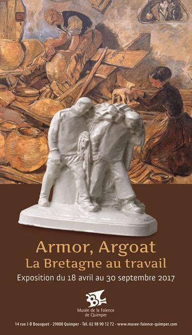 Armor, Argoat La Bretagne au travail.