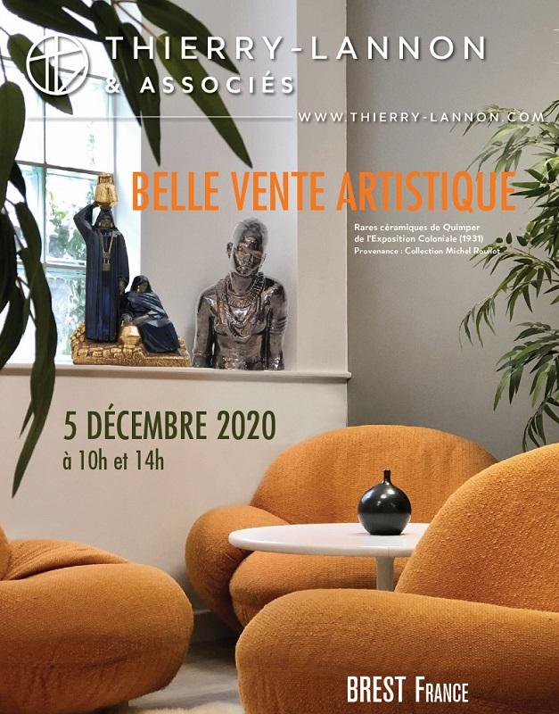 Vente Thierry-Lannon, du 5 décembre 2020