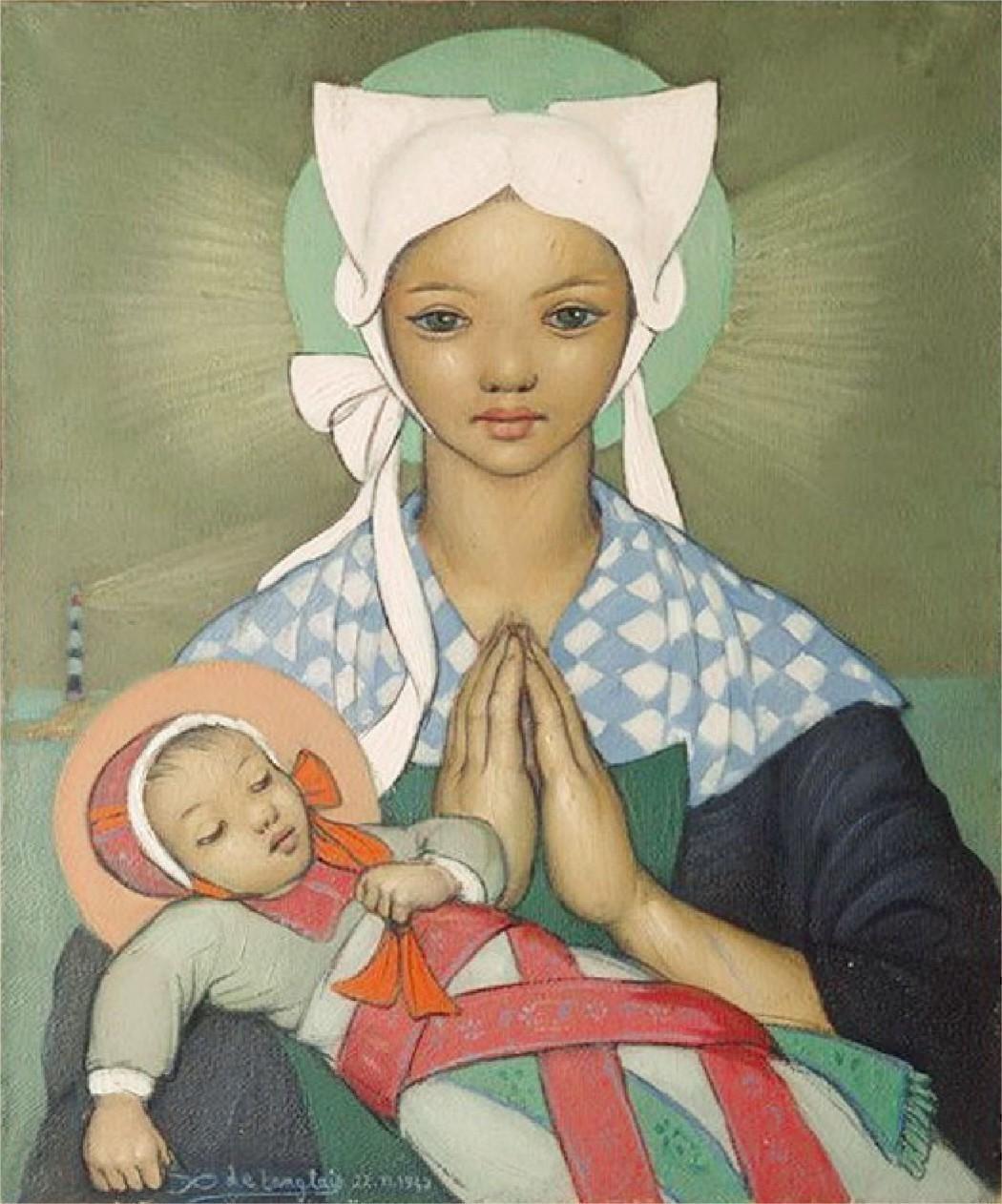 Xavier de Langlais peinture