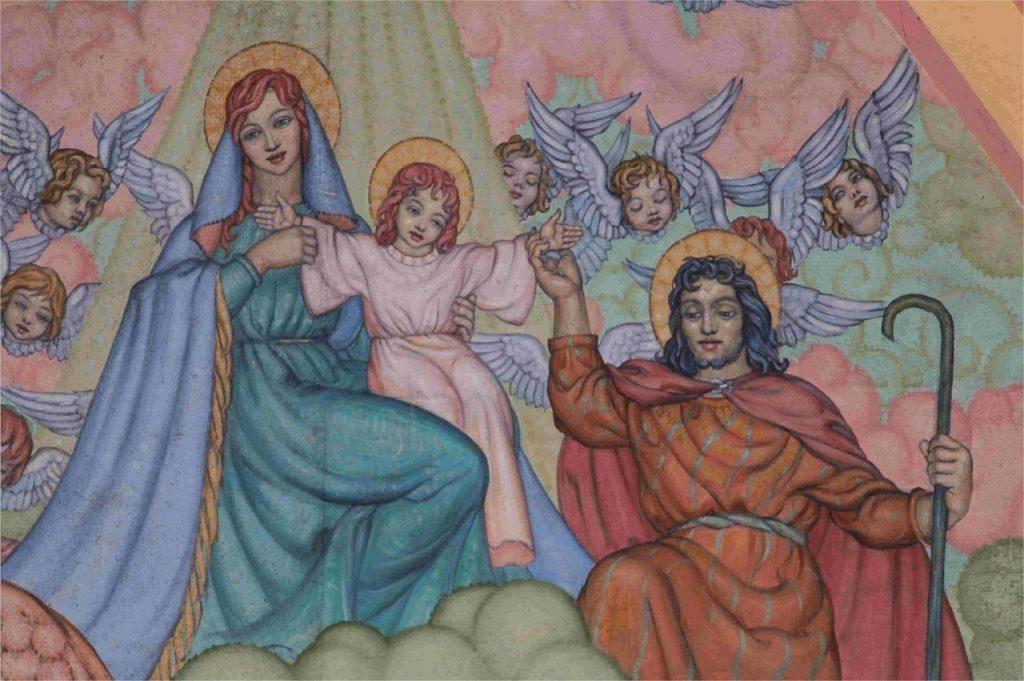 Peinture Chapelle du collège Saint-Joseph à Lannion