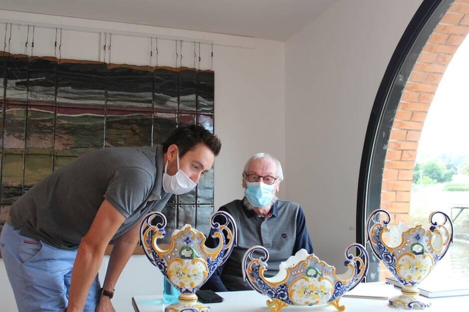 Jérémy Varoquier et Bernard Verlingue