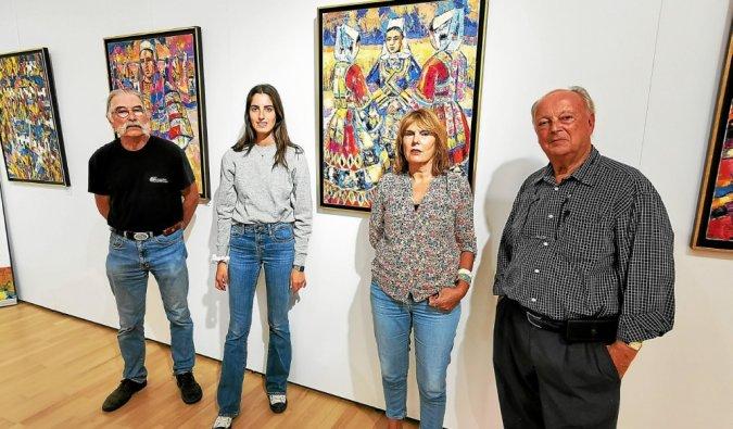 Exposition Robert Micheau-Vernez à Lamor-Plage