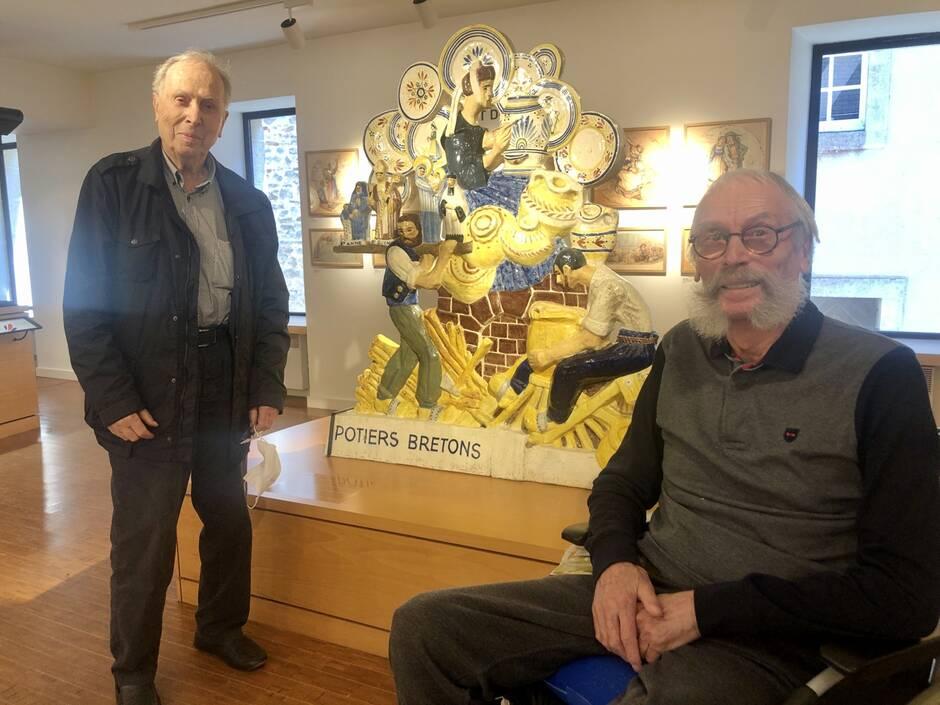 Jean-Yves et Bernard Verlingue