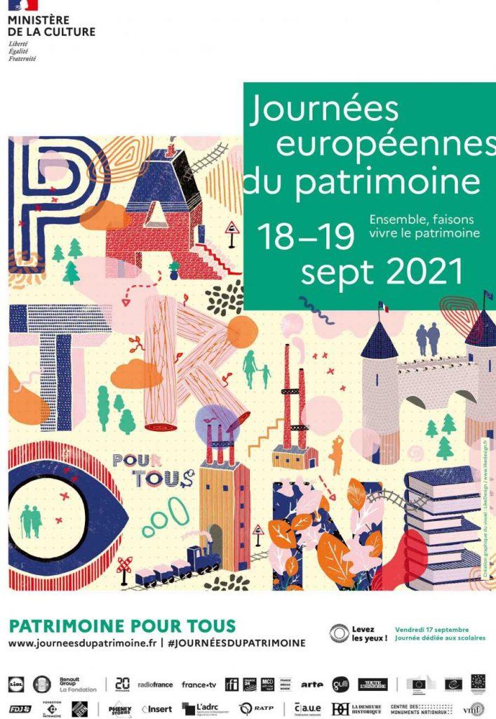 Les journées européennes du patrimoine 2021.